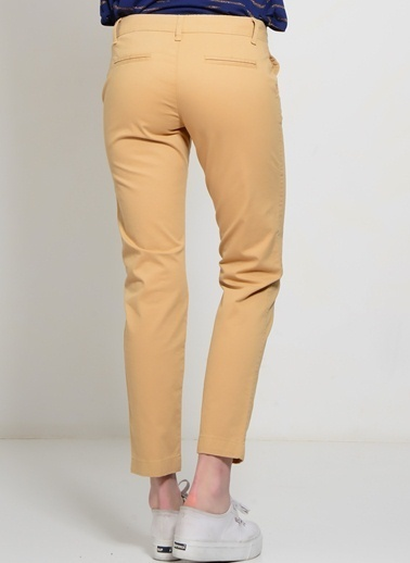 Limon Company Slim Fit Pantolon Bej